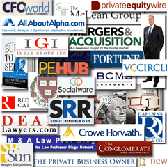 Blogs covering mergers and acquisitions